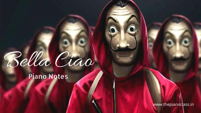 Bella Ciao Piano Notes