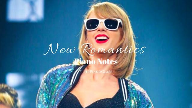 New Romantics Piano Notes