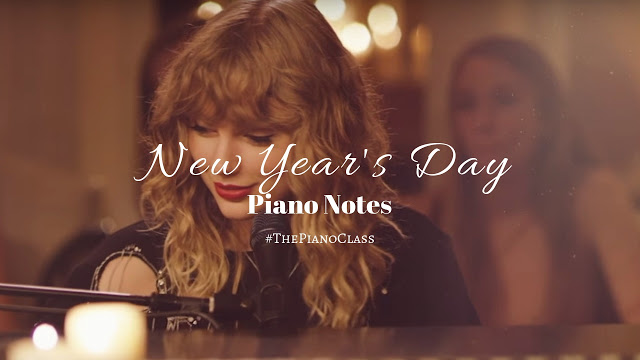 New Year's Day Piano Notes