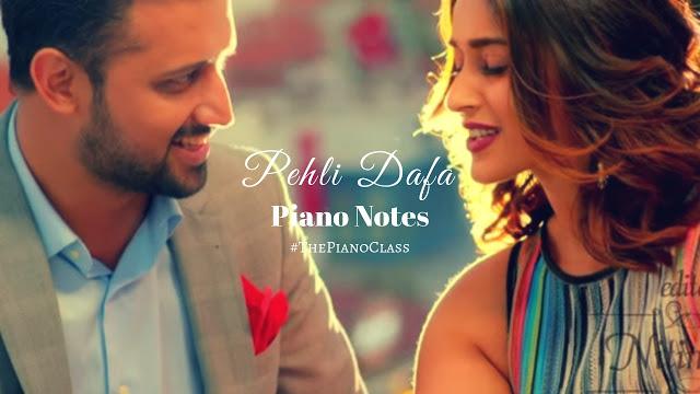 Pehli Dafa Piano Notes