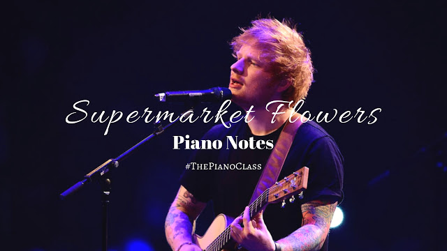 Supermarket Flowers Piano Notes