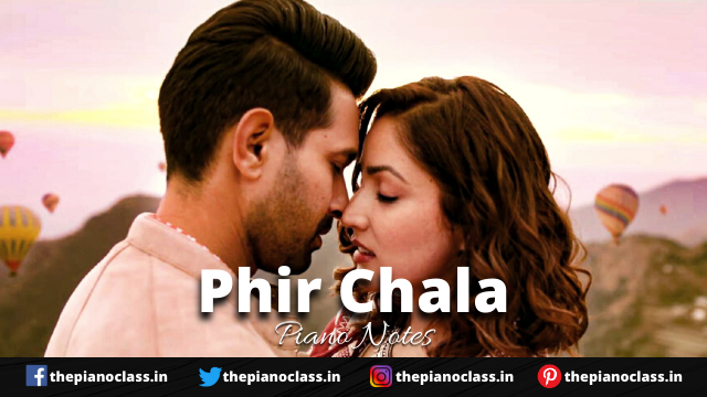 Phir Chala Piano Notes - Ginny Weds Sunny
