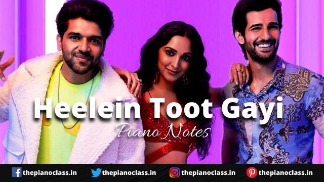 Heelein Toot Gayi Piano Notes - Indoo Ki Jawani