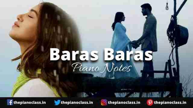 Baras Baras Piano Notes - Durgamati