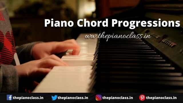 Piano Chord Progressions - ThePianoClass