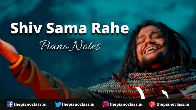 Shiv Sama Rahe Piano Notes - Hansraj Raghuwanshi