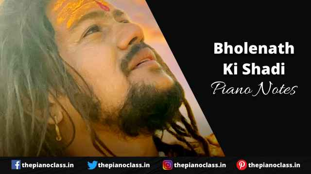Bholenath Ki Shadi Piano Notes