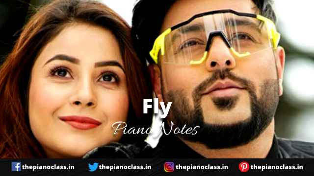 Fly Piano Notes - Badshah, Uchana Amit