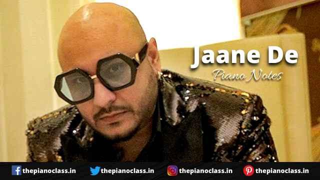 Jaane De Piano Notes Koi Jaane Na