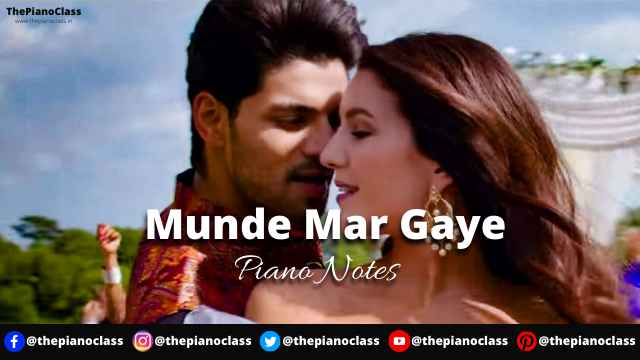 Munde Mar Gaye Piano Notes - Time To Dance