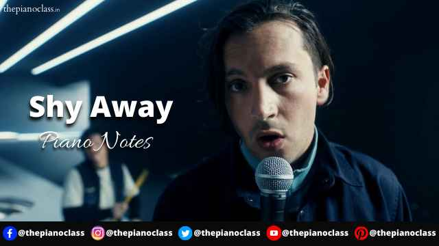 Shy Away Piano Notes - Twenty One Pilots