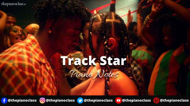 Track Star Piano Notes - Mooski