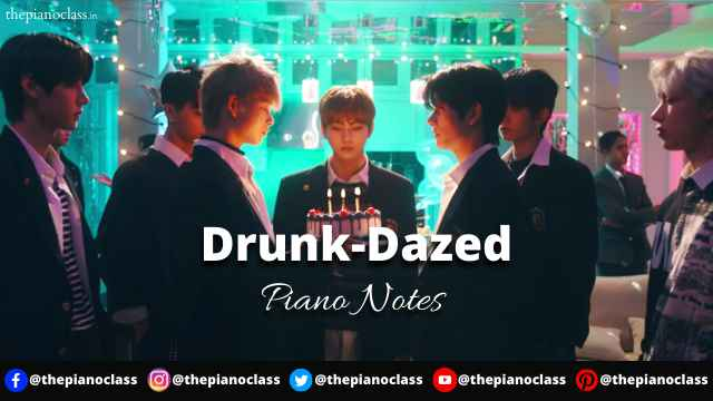 Drunk-Dazed Piano Notes - ENHYPEN