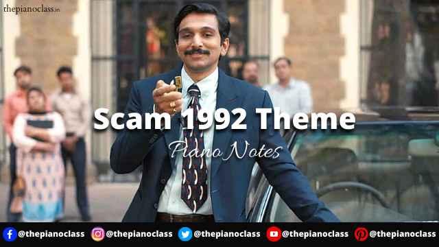 Scam 1992 Theme Piano Notes - Scam 1992